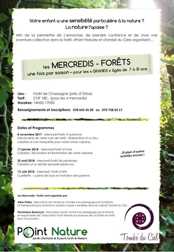 Flyer mercredis-forêt-mail