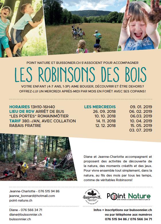 Les Robinsons 2018-2019